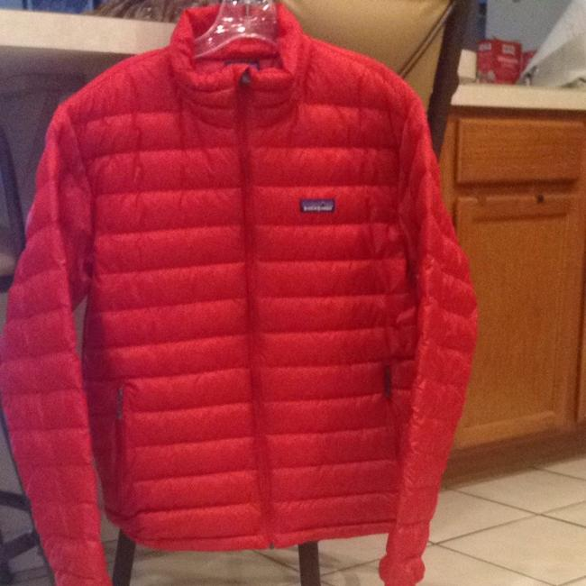 Item - Red Down Sweater Jacket Style 51884 Coat Size 4 (S)