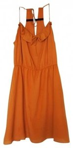BCBGeneration short dress Orange on Tradesy