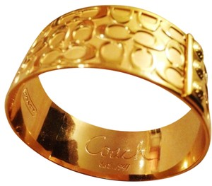 Coach Coach Signature Gold Bangle
