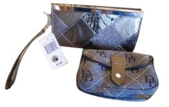Preload https://item1.tradesy.com/images/dooney-and-bourke-nany-blue-off-white-bourkechateau-duo-wallet-13015-0-0.jpg?width=440&height=440