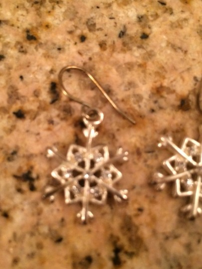 Claire's Snowflake Earrings