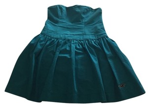 Hollister short dress Turquoise Blue on Tradesy