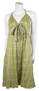 Burberry short dress Green on Tradesy