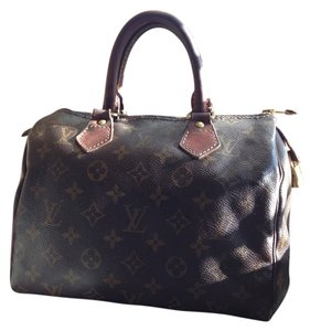 Louis Vuitton Speedy Vintage Satchel in Classic monogram