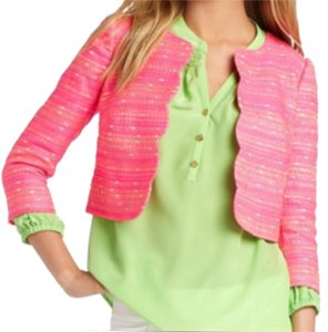 Lilly Pulitzer Hot pink Blazer