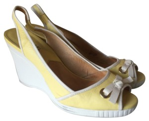 MICHAEL Michael Kors Yellow Wedges