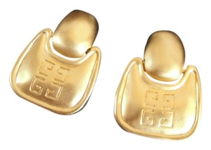 Givenchy Vintage Givenchy Door Knocker Clip Earrings