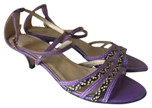 Eric Javits Purple Pumps
