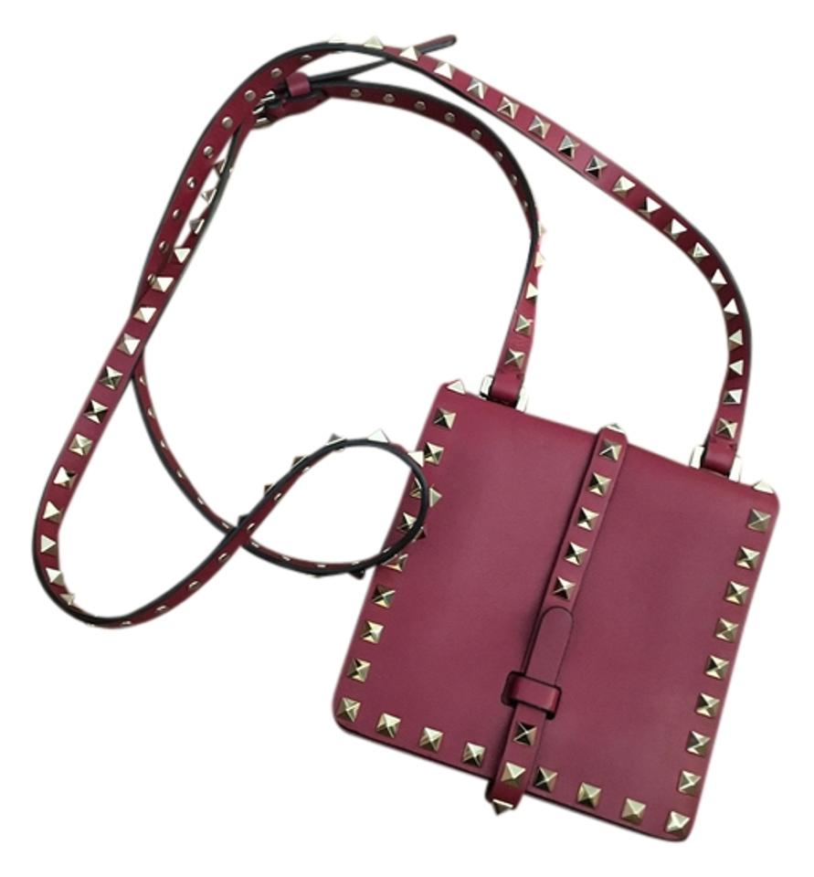 d82de306a3db Valentino Scarlet Red Leather Cross Body Bag - Tradesy