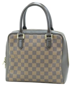Louis Vuitton Satchel in ebene dark brown