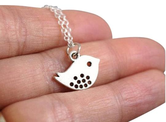 Preload https://item3.tradesy.com/images/handmade-spotted-bird-sterling-silver-necklace-everyday-jewelry-gift-simple-dainty-necklace-1301917-0-4.jpg?width=440&height=440