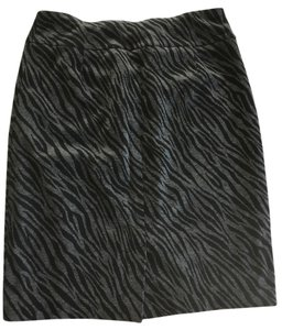 Tribal Skirt Grey/Black Animal Print