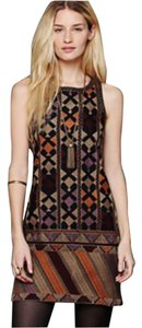 Free People short dress Multicolor on Tradesy