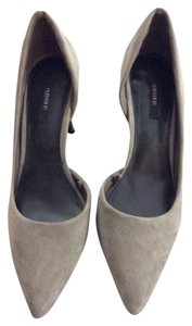 Forever 21 Grey Pumps