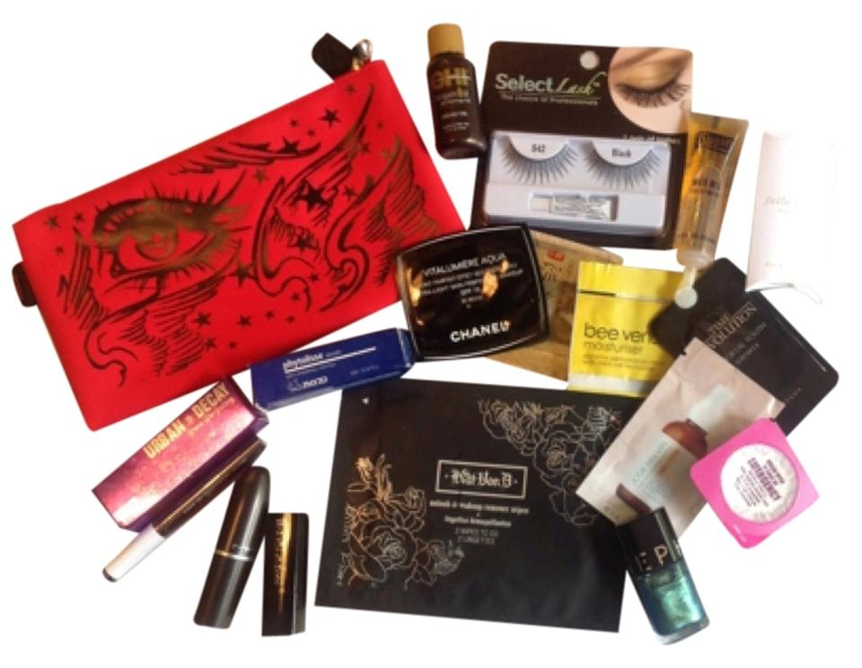Kat Von D Red M.a.c Sephora Chanel Cosmetic Bag - Tradesy
