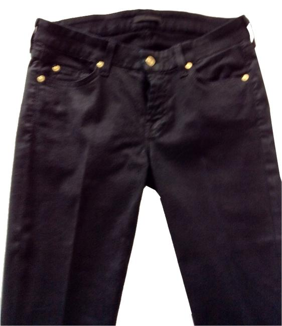 Item - Black Dark Rinse Skinny Jeggings Size 30 (6, M)