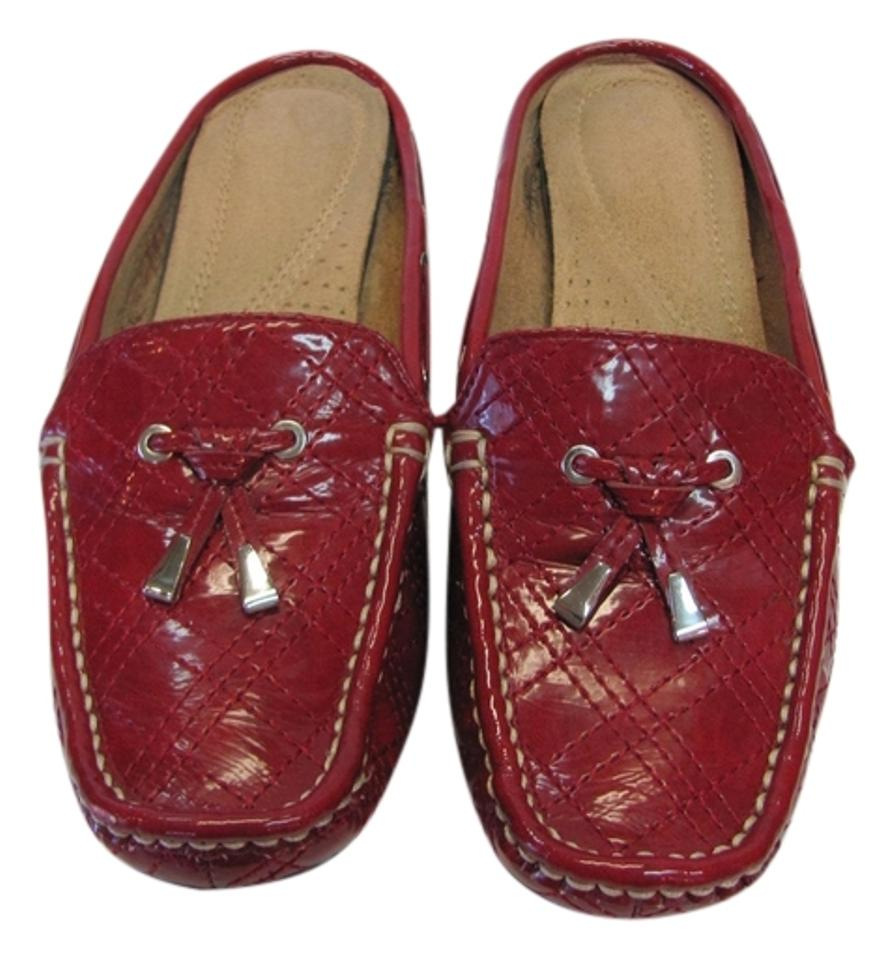 Naturalizer Red Very M (Usa) Cushioned Footbed Very Red Good Condition Mules/Slides af4dc7