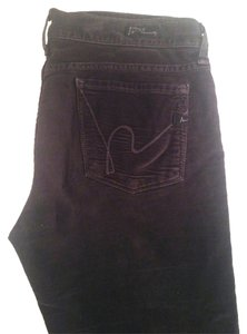 Citizens of Humanity Fall Pants Velvet Coh Pants Boot Cut Jeans-Dark Rinse