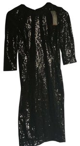 New York & Company Sheath Sequin Dress