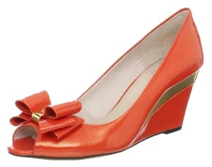 Vince Camuto Orange Wedges