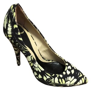 Alexander McQueen Yellow / mint / khaki Pumps