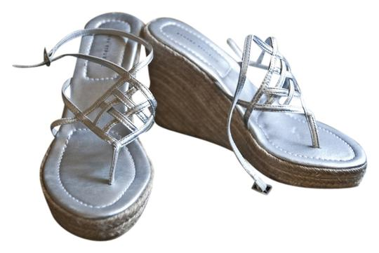 Banana Republic Silver Wedges