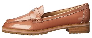 Coach METALIC blush Flats
