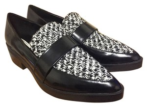 Zara Loafers Oxford Black Flats
