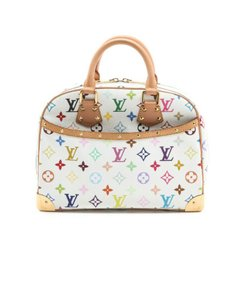 Louis Vuitton Vintage Tote in white