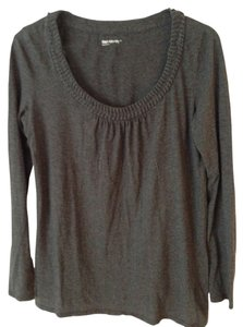 Gap Maternity Braided Collar Top Size M