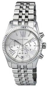 Michael Kors Silver tone Stainless Steel Casual Designer Watch