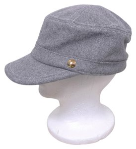 Juicy Couture JUICY COUTURE WOOL NEWSBOY HAT
