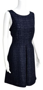 Jennifer Lopez Metallic Tweed Sparkling Dress