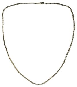 Hermès Authentic Hermes Sterling Silver Hercules H-Link Necklace