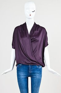 Vince Criss Cross Top Purple
