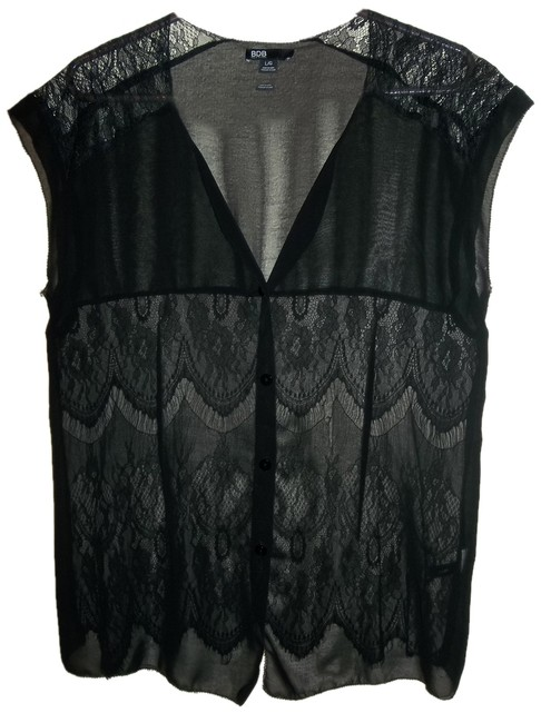 Item - Black Large See My Bio Combined Shipping Blouse Size 12 (L)