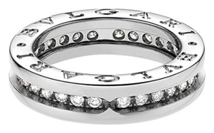 BVLGARI Bvlgari B.zero1 18K White Gold Diamond Ring AN850656 US 5.75