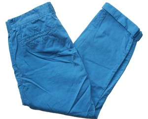 Current/Elliott Blue Cropped Capri/Cropped Pants HAVIANA BLUE