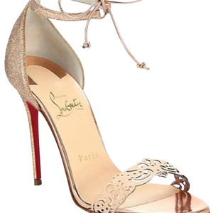 e81c56b63fdf Women s Gold Christian Louboutin Shoes - Up to 90% off at Tradesy