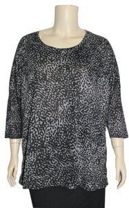 Zena Top Black/Gray