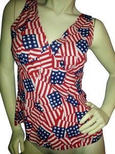 Other Red, White & Blue Halter Top