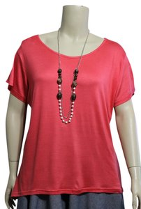 Bobbie Brooks Top Coral