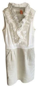 Ann Taylor LOFT Ruffle Sleeveless Dress