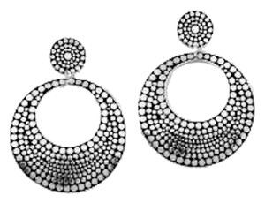 Bold Elements Silver Open Disc Earring Bold Elements by Erica Lyons