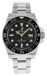 Rolex Rolex GMT-Master II 116710LN Stainless Steel Automatic Watch (11361)