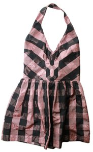Topshop Punk Black Pink Dress