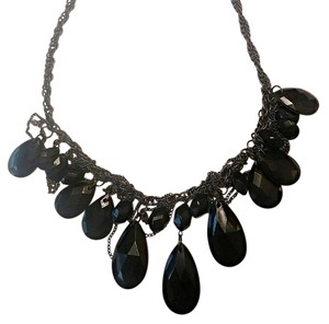 Other Black beaded Statement Necklace