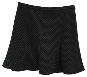 Michael Kors Mini Skirt Black White