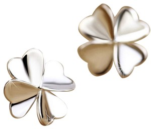 Other Four Leaf clover stud earrings/ Lucky clover earrings/ Small stud earrings/ four leaf clover earrings/jewelry trend 2016