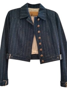 John Galliano Womens Jean Jacket